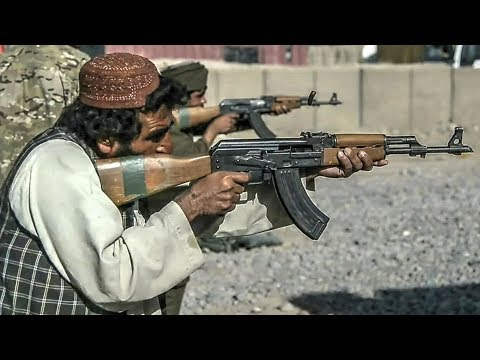Afghan Police – AK-47 Type Rifle Class Live Fire Training
