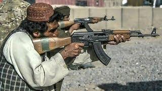 Afghan Police – AK-47 Type Rifle Class Live Fire Training