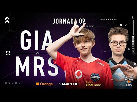 GIANTS VS MOVISTAR RIDERS | Superliga Orange League of Legends | Jornada 09 | Temporada 2019 thumbnail