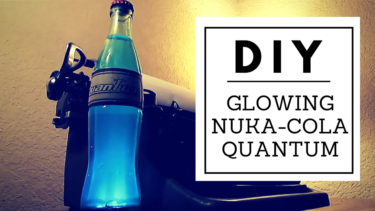 Lovely DIY Light Up Nuka Cola Quantum   Nerd Builds   YouTube