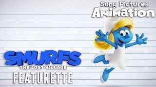 Smurfs: The Lost Village - How to Draw Smurfette