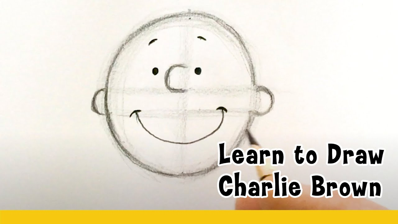Charlie Brown - Sketch School at Home