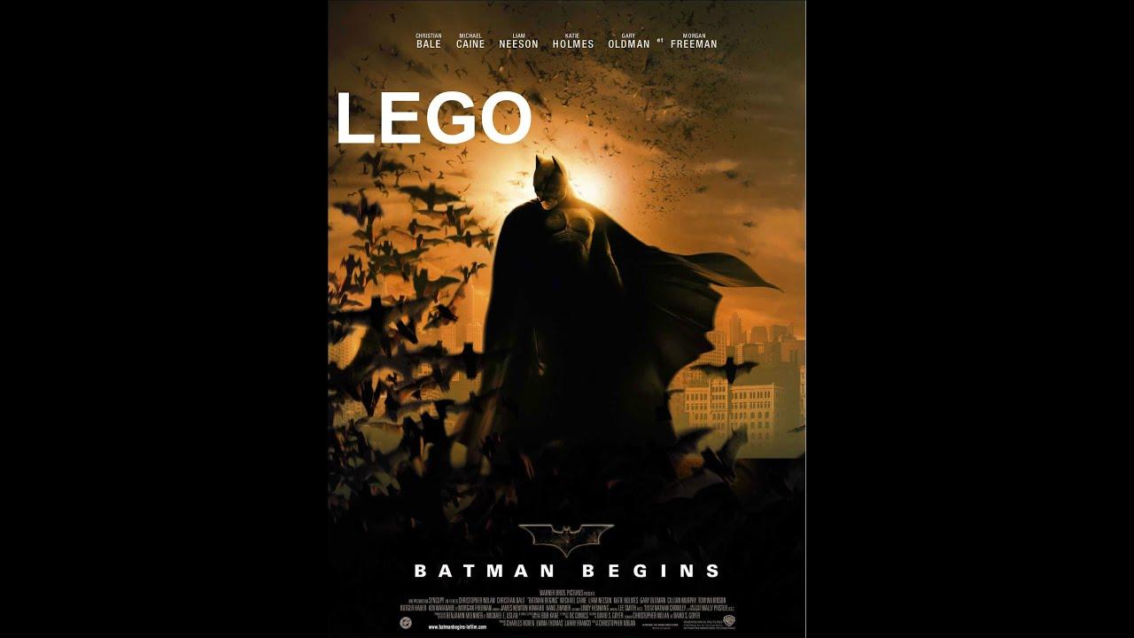 LEGO Batman Begins trailer (2005) - YouTube