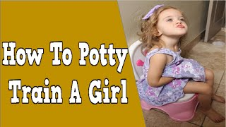 How To Potty Train A Girl, Potty Training At Night, Toddler Potty Training, Potty Training 3 Days