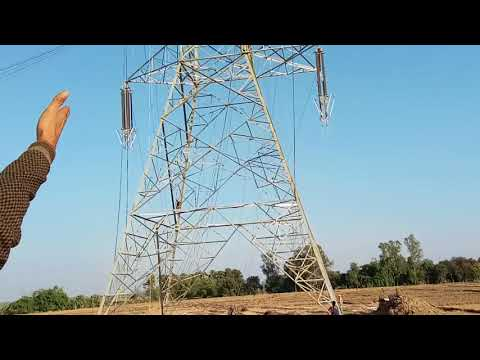 Gaya to NTPC Navi Nagar Power Grid Corporation side work video