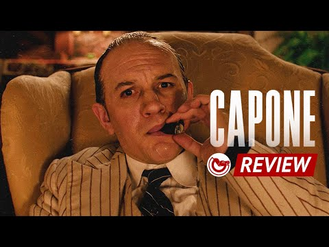 Capone Review – Tom Hardy leads confusing, bizarre crime biopic