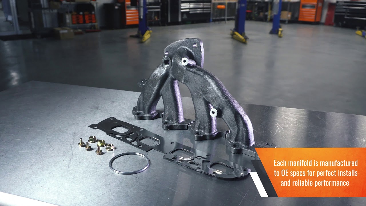 Exhaust Manifold | 674-910 | Cast Iron Exhaust Manifold  Includes