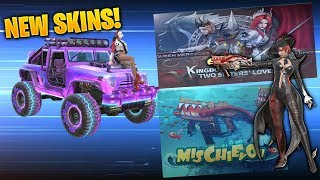 ROS UPDATE | UNBOXING *NEW* VECTOR and VEHICLE Skin (Rules of Survival)