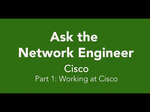 ANE Series Episode 35: Cisco Part 1: Working at Cisco