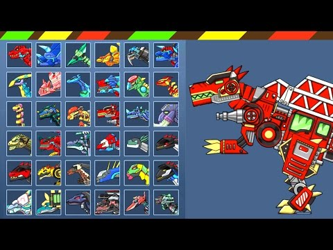 Dino Robot Spinosaurus Plus: Game + Battlefield + Repair | FULL GAME PLAY - 1080 HD | DCTE VN