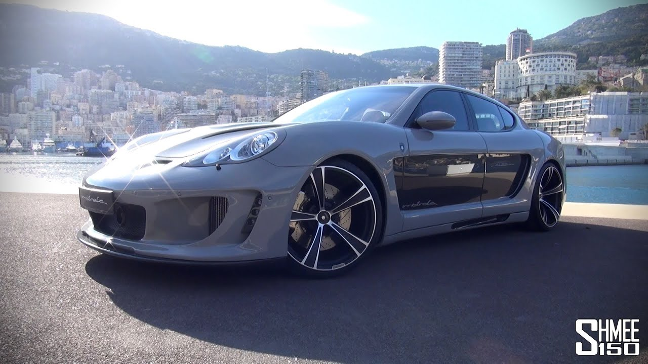 Gemballa Mistrale 744hp Panamera Tour Revs And Drive