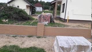 Фантастика! Забор своими руками за пару дней из Т-блока