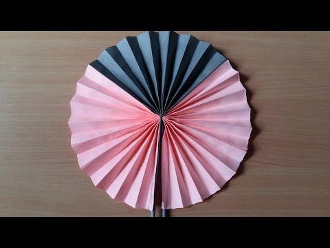 Easy paper folding pocket fan| DIY| Paper craft