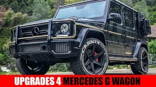 Must-Have Upgrades for the Mercedes G Class