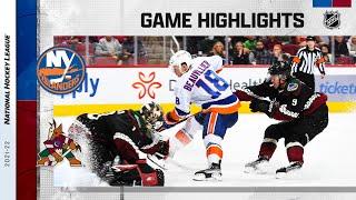 Islanders @ Coyotes 10/23/21 | NHL Highlights