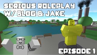 ROBLOX Role-play w/ Blog & Jake - Town of Robloxia
