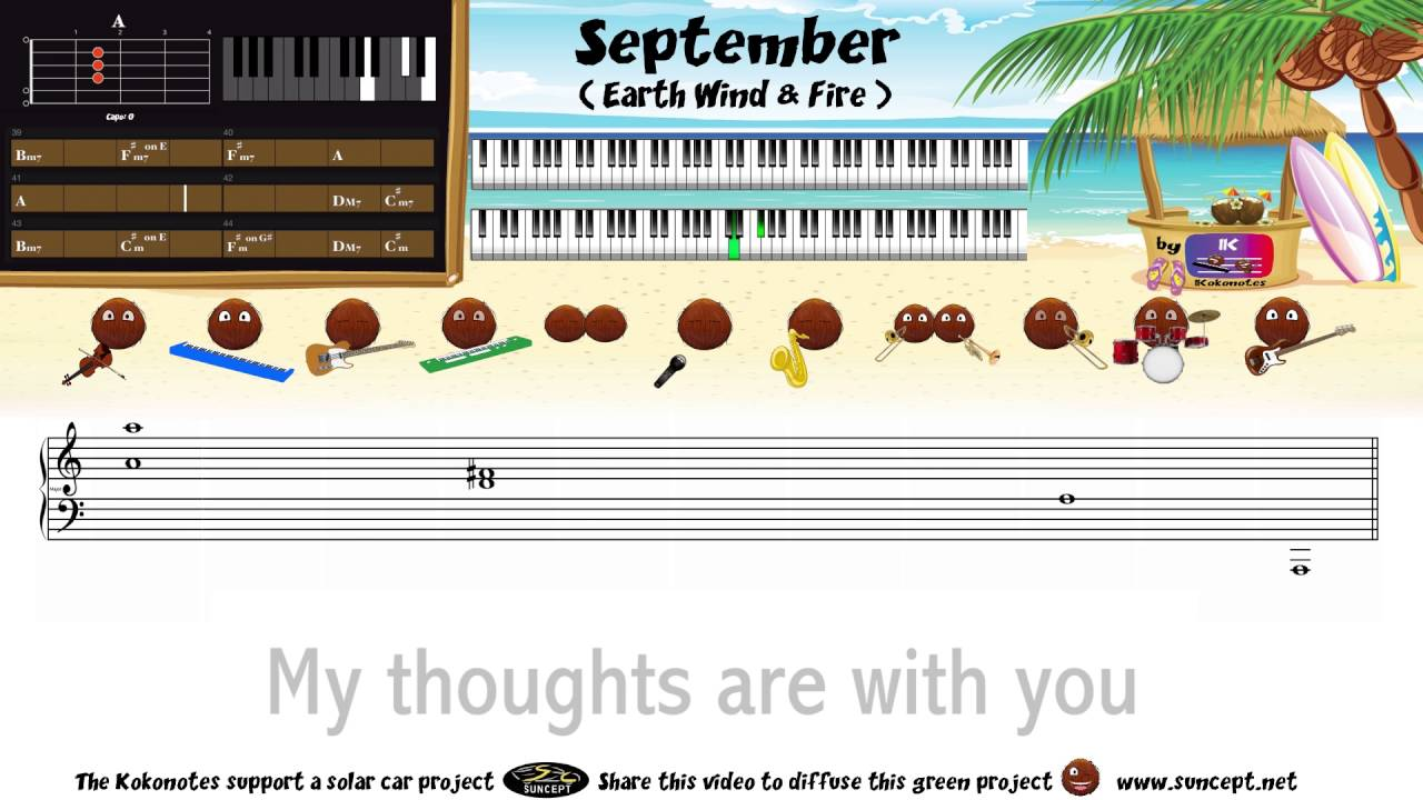 september earth wind and fire how to play