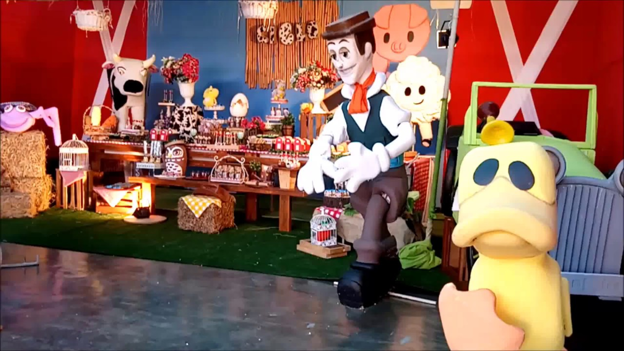 Decoracion De La Granja De Zenon Para Fiestas Infantiles 992487094