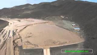 Desastre Alud Taltal Segunda Region Chile 2015 desde el Aire