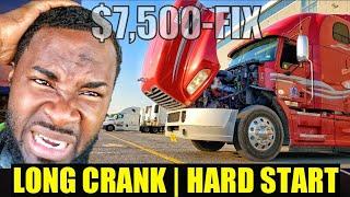 Mack/ Volvo Truck Long Crank Hard Start Mp8/ D13 Engine Problem Fix.