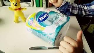 Обзор  туалетной бумаги  zewa just1