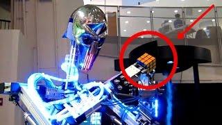 Robot Resuelve el Cubo de Rubik en 1 SEGUNDO