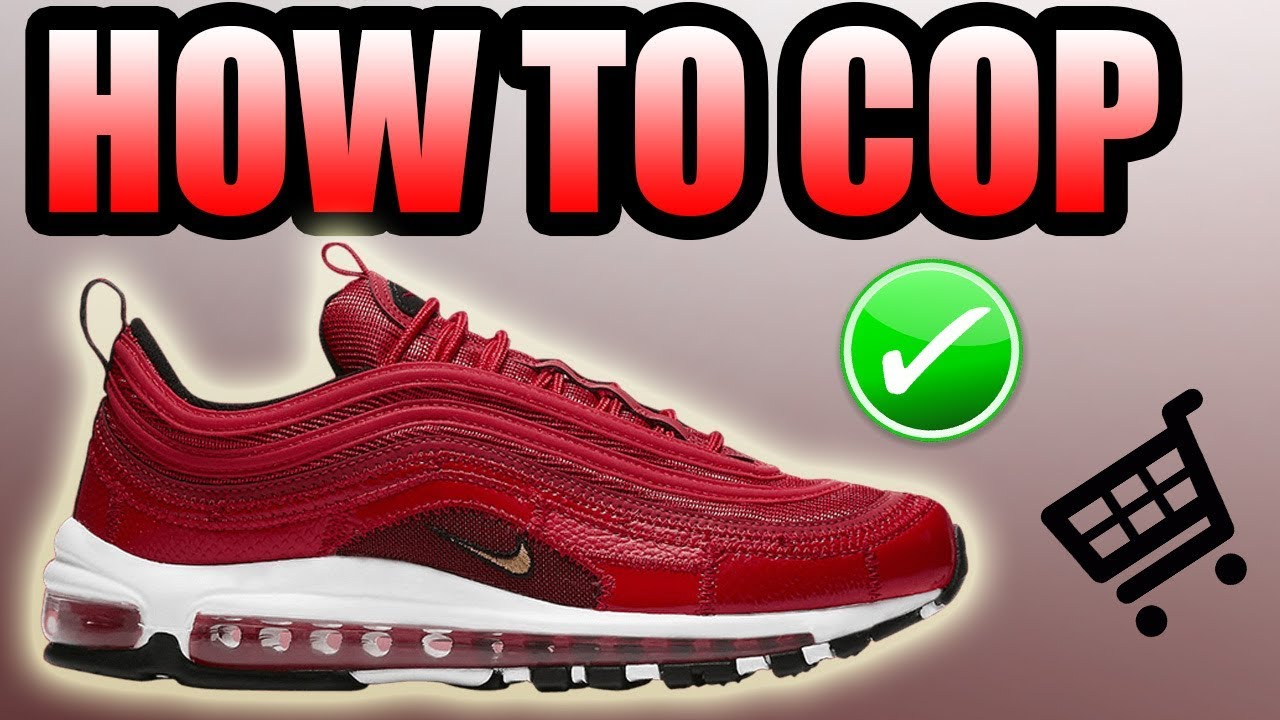 d81b61a2e73 How To Get The AIR MAX 97 CR7 PORTUGAL PATCHWORK !
