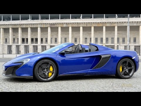2015 McLaren 650S Spider Review - Fast Lane Daily