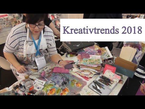 Ein Besuch der Creativeworld 2018 | Fachmesse für Hobby und Basteln in Frankfurt