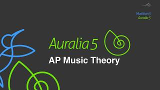 AP Music Theory with Auralia & Musition