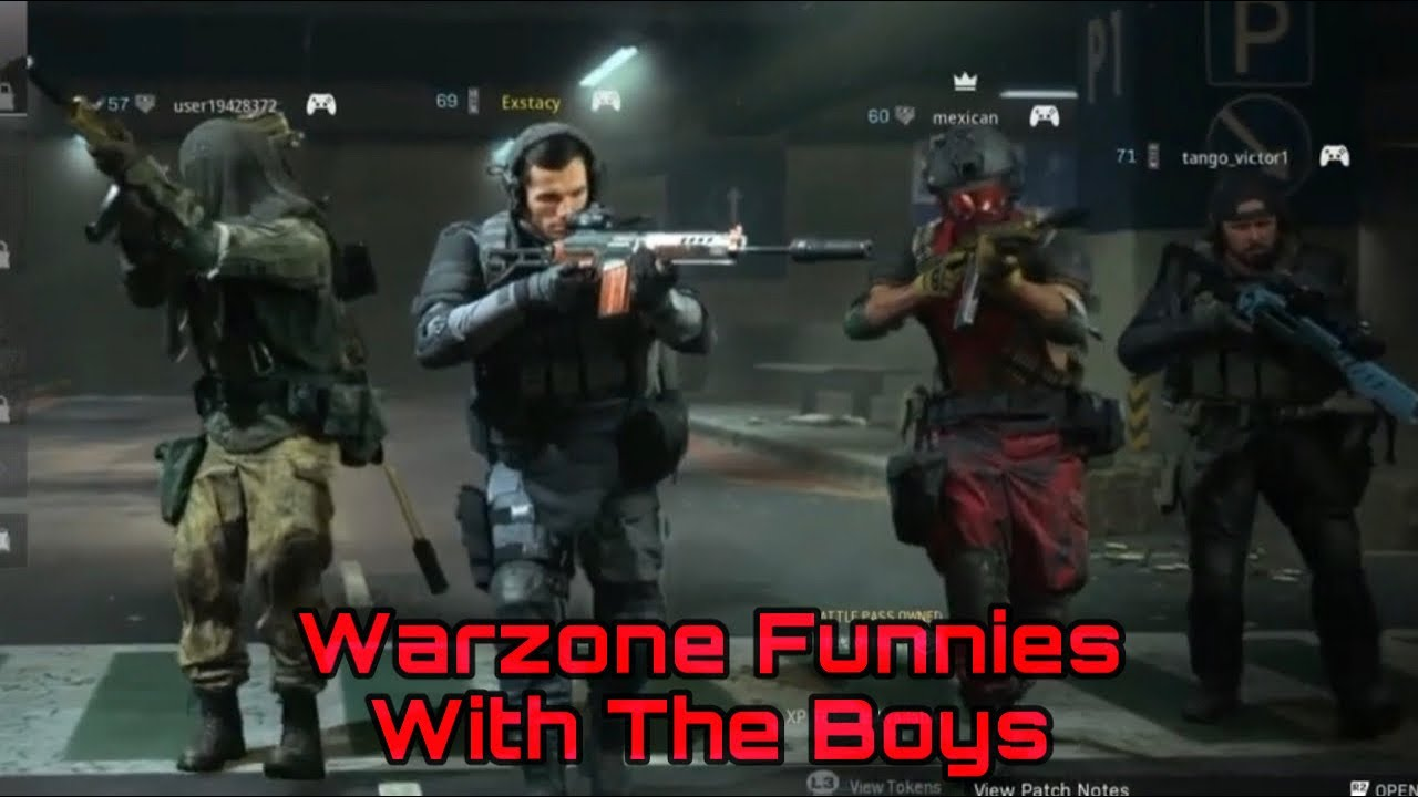 Warzone Season 5 Funnies with EOD Clan ft. National, Mexican, and Tango