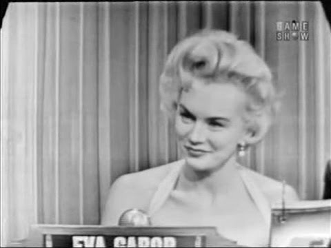 What's My Line? - Eva Gabor (Aug 8, 1954)