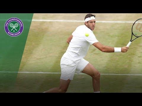 Juan Martin Del Potro vs Gilles Simon 4R Highlights | WImbledon 2018