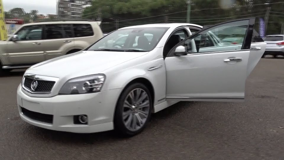 2015 Holden Caprice Ryde Sydney New South Wales Top