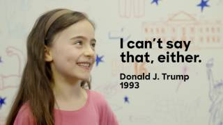 Kids inspired by Trump   The Briefing