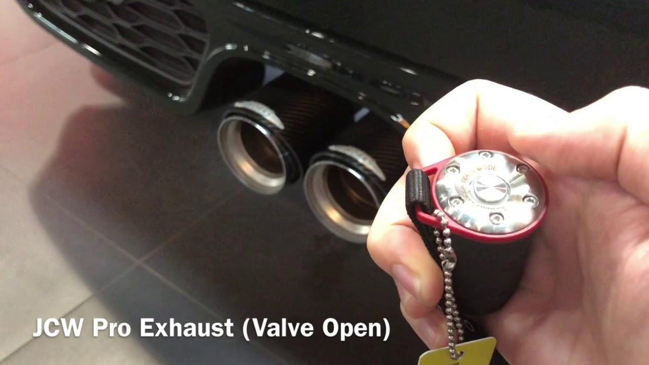 mini jcw pro exhaust