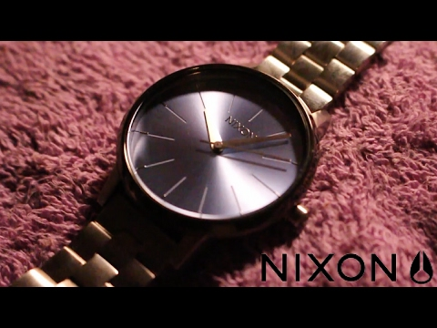 NEW NIXON WATCH AND HOW TO ADJUST BAND