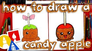 How To Draw A Candy Apple With Mrs Hubs Youtube