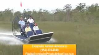 Everglades Airboat Adventures!