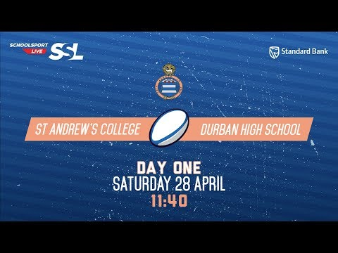 Grey Rugby Festival: St Andrew's 1st XV vs DHS 1st XV, 28 April 2018