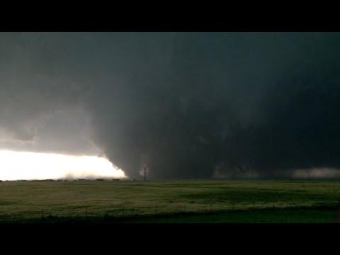 5/31/2013 El Reno, OK & OKC Airport Tornado Stock Footage