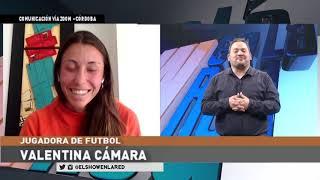 Fútbol Femenino   Valentina Camara en El Show En La Red 09 06 2020