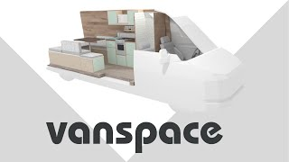 Vanspace 3D Demo | Easiest Way To Design Your Van Conversion