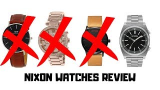 Why NIXON Watches Beat Daniel Wellington, MVMT, and Michael Kors