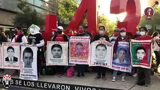 SME Ayotzinapa refrenda su solidaridad y apoyo 26nov2020