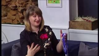 Майстриня Ольга Качур: прикраси з бісеру_Ранок на каналі UA: ЖИТОМИР 21.01.19