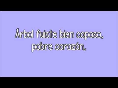 (Letra) Mercedes Sosa - La flor azul (Vivo)