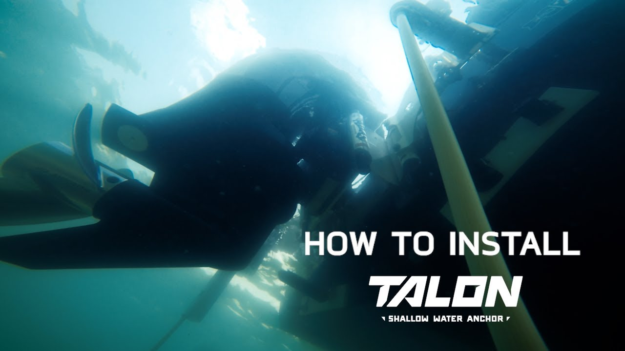 DIY Minn Kota Talon Shallow Water Anchor Install (DETAILED Walk ...