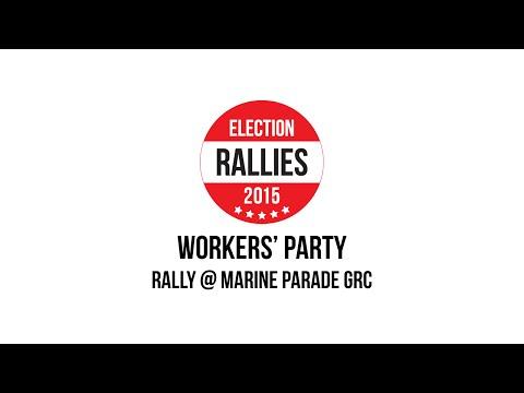GE2015 :  WP @ MARINE PARADE GRC. 7 Sept.