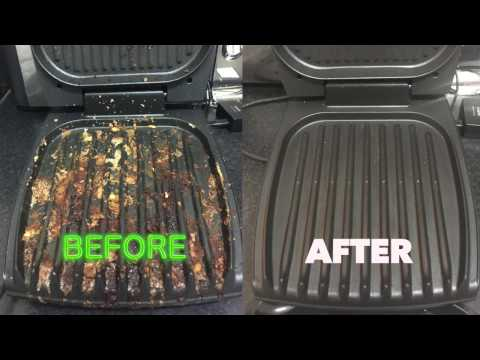 How to clean your George Foreman Grill the easy way - like a BOSS!